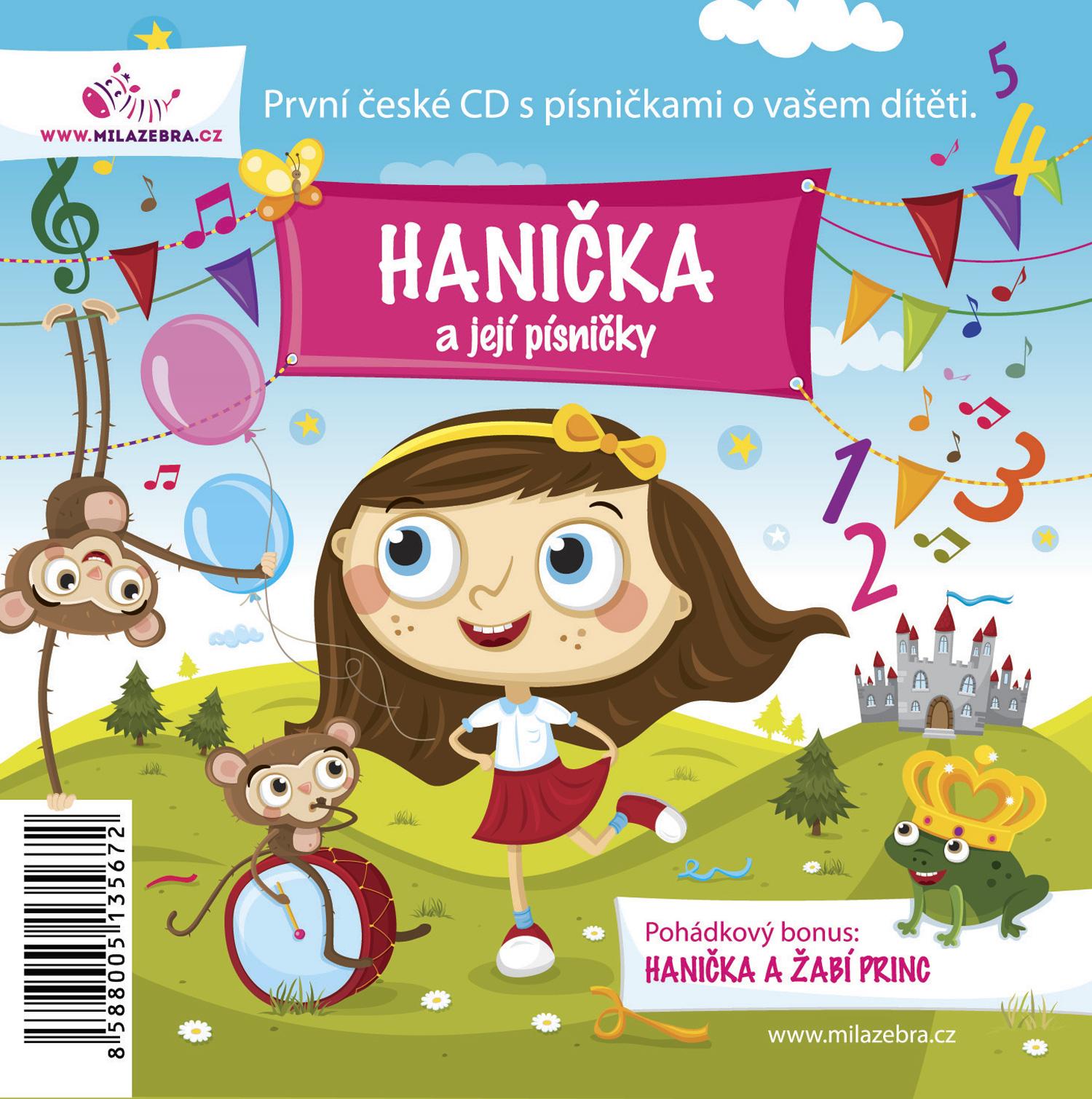 Dětské písničky a pohádka - personalizované